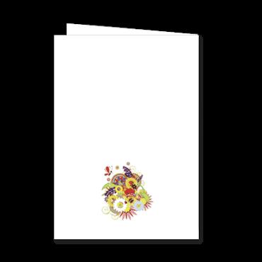Livret de messe ou livret de mariage personnalisable arbre for Livret des fleurs
